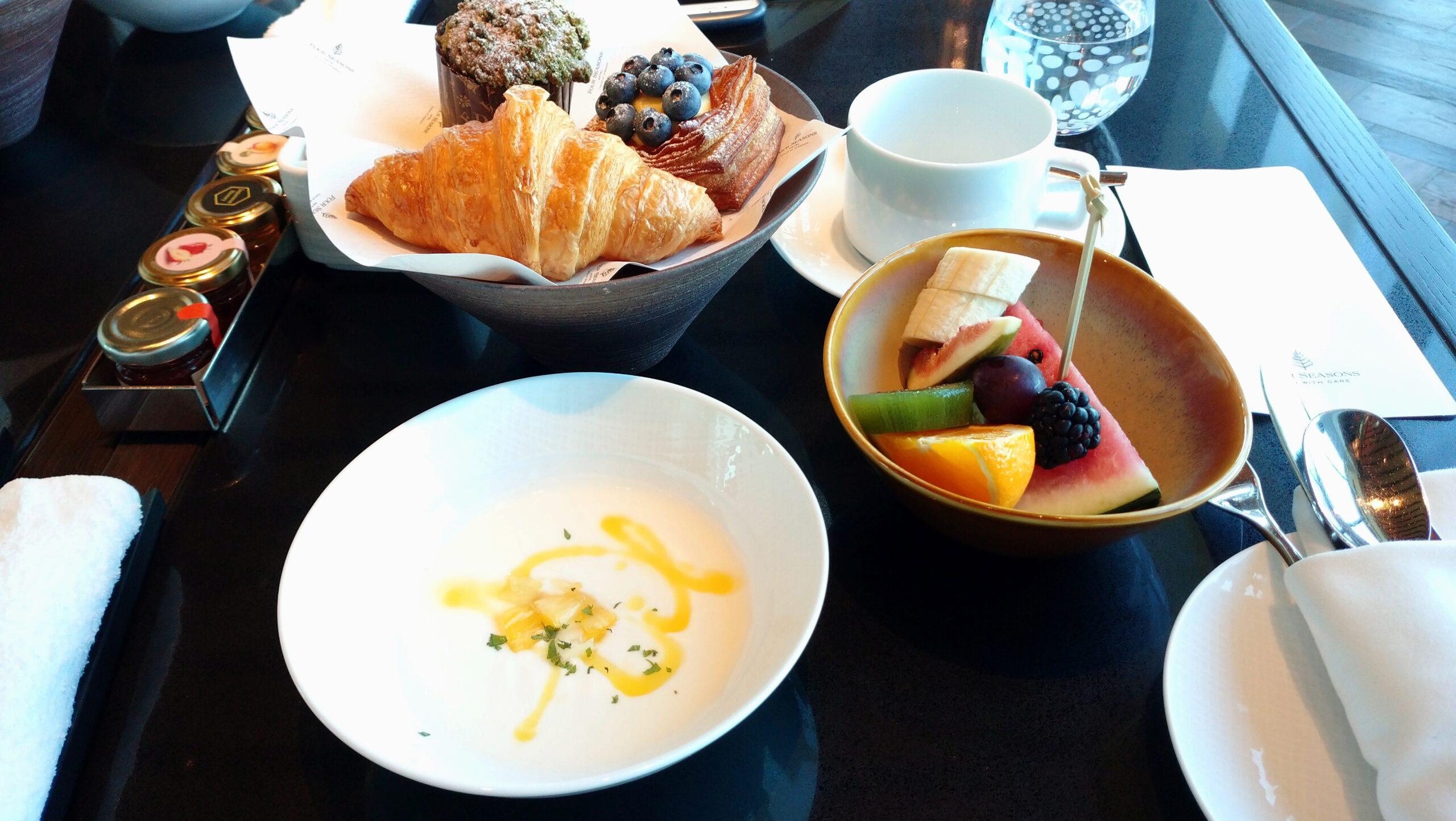 フォーシーズンズホテル東京大手町 朝食